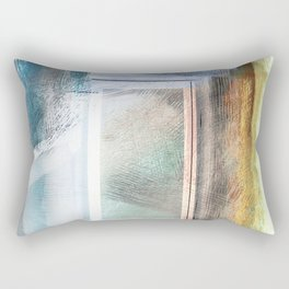 Step Forward II Rectangular Pillow