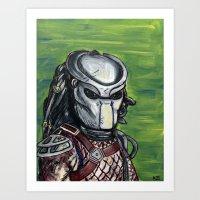 predator Art Prints featuring Predator by MSG Imaging