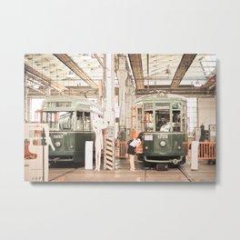 The hangar Metal Print