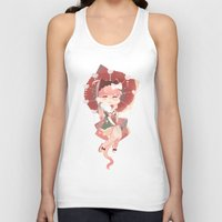 vocaloid Tank Tops featuring (VOC) Easy as I - RO - HA ! by Crispy