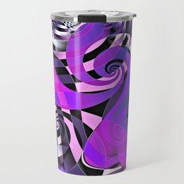Interdimensional Whirl (purple) Travel Mug