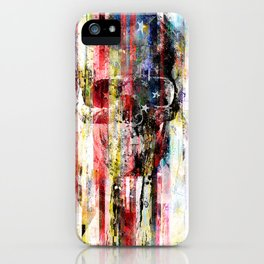 Lenny Hostile iPhone Case