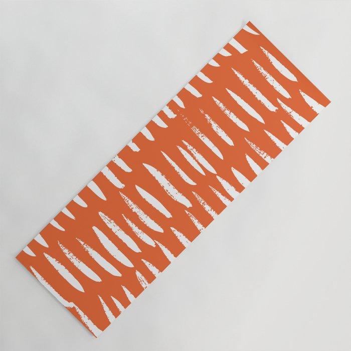 Brush Stroke Staccato Yoga Mat