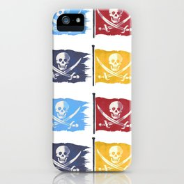 Jolly Rogers Multiplied iPhone Case