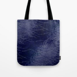5 Wind-whipped Vines (blue II) Tote Bag
