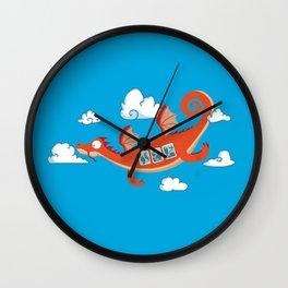 Dragonia Air Wall Clock