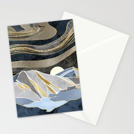 Metallic Sky Stationery Cards