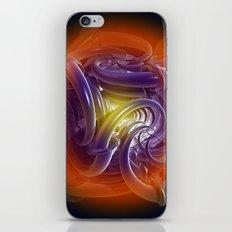 Deadly Circle iPhone & iPod Skin