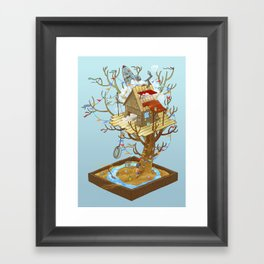 Dream Playground Framed Art Print