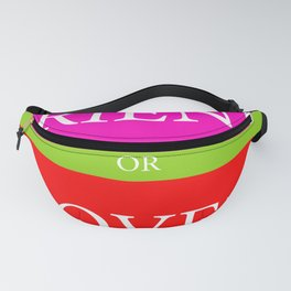 FRIEND or LOVER Fanny Pack