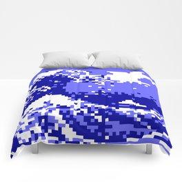 Pixel Tsunami Comforters
