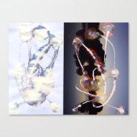 bleach Canvas Prints featuring Bleach-1 by Bzerk Creative