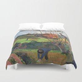 The willow tree  Paul Gauguin Duvet Cover
