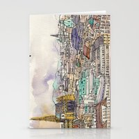 vienna Stationery Cards featuring Vienna by Eurekawanders