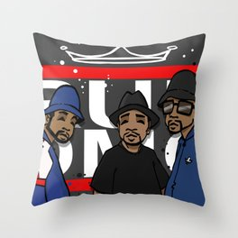 Get Down with the Kings Throw Pillow