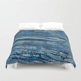Giusto Azzurro blue marble Duvet Cover