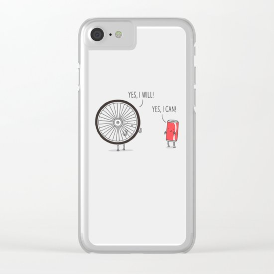 I will, I can Clear iPhone Case