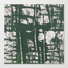 NYC Walls (zelen) Canvas Print