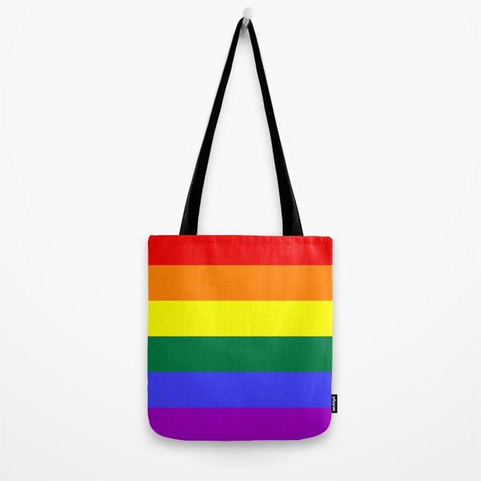Gay Pride Flag Tote Bag