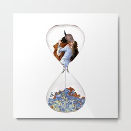 Hourglass of Love (Hayez) Metal Print