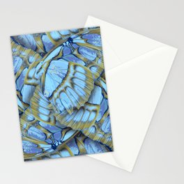 Blue Wings Stationery Cards