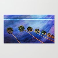 palms Canvas Prints featuring Palms by Psocy Shop