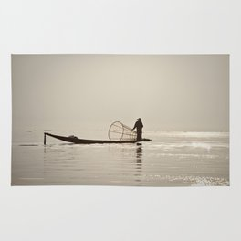 Inle Lake Myanmar Rug