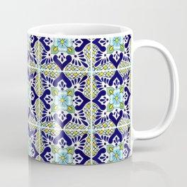 Talavera Mexican Tile IN BLU Coffee Mug