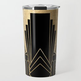 Art deco design Travel Mug