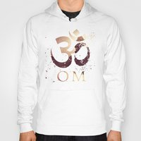 india Hoodies featuring Om India by Eva Nev