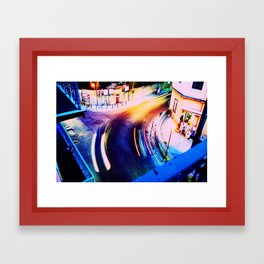 CityLights Framed Art Print