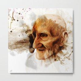 The Old man Metal Print