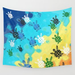 Back to the Ocean Wall Tapestry