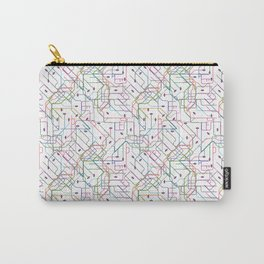 London Subway Carry-All Pouch