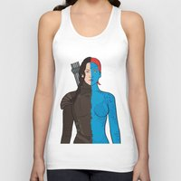 katniss Tank Tops featuring Katniss-Mystique by richoz