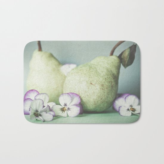 Pair of Pears Bath Mat