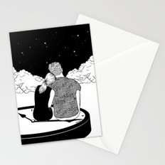 Time stands still Stationery Cards