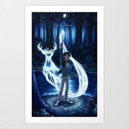 Expecto Patronum - Harry Art Print