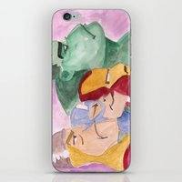 avenger iPhone & iPod Skins featuring Avenger by Richtoon