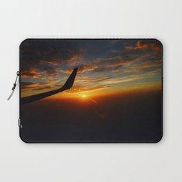 30,000 foot Sunset  Laptop Sleeve
