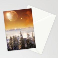 Golden Eclipse Stationery Cards