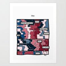 What Next Art Print