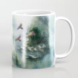Flight through the Mountains Coffee Mug