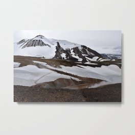Mountains of Iceland Metal Print