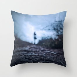 Creepy shape Throw Pillow