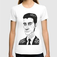 dale cooper T-shirts featuring Cooper by Simone Bellenoit : Art & Illustration