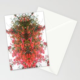 Mirrored Trees 7 Stationery Cards
