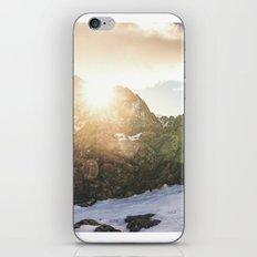 Sun In Winter Mountains iPhone & iPod Skin