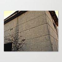 concrete Canvas Prints featuring concrete by black ghöst