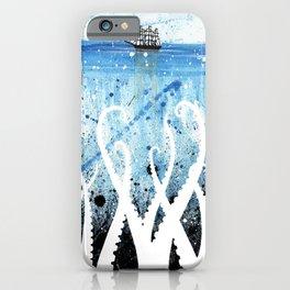 Kraken Watercolor iPhone Case